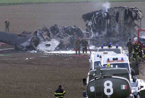 Pisa, aereo caduto:   le scatole nere ai pm