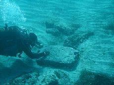 Città romana sommersa scoperta sulla costa della Cirenaica