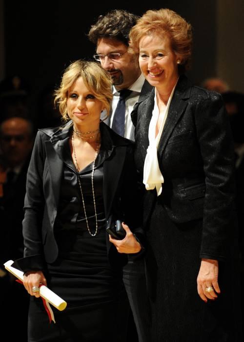 """Ambrogini, premiata Marina Berlusconi:  """"Dedico il premio al papà e alla mamma"""""""