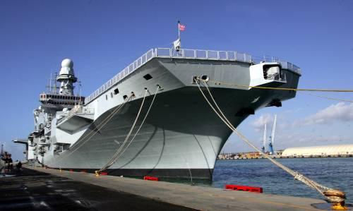 La portaerei Cavour salpa per Haiti
