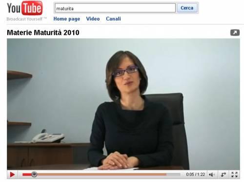 Maturità: le materie su Youtube