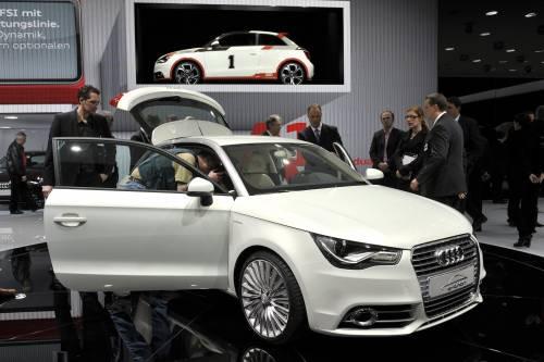 Arriva la Audi A1 e-tron: emissioni zero