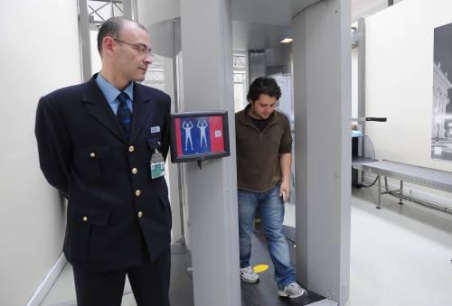 Body scanner, il primo a Fiumicino