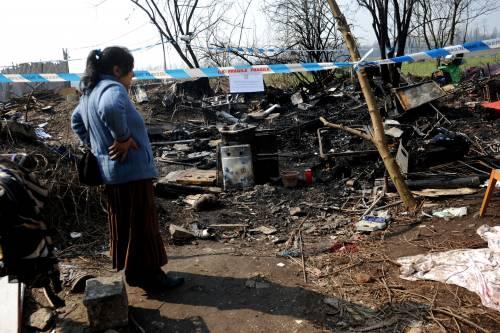 Rom muore: massacrata di botte  Marito fermato dagli altri del campo