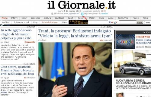 "Scoperta la biblioteca  anti ""Giornale.it"""