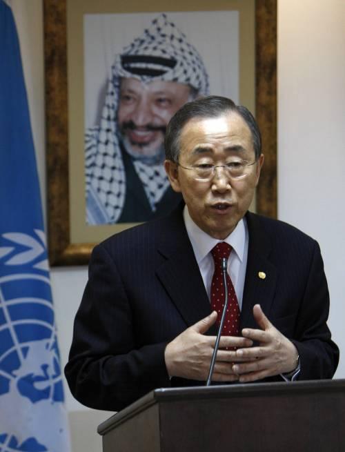 "Ban ki-Moon da Gaza: ""Israele tolga il blocco"""