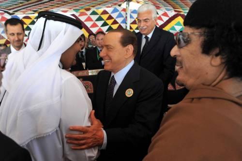 """Crisi tra Libia e Svizzera,  premier parla a Gheddafi  Risolto il """"caso dei visti"""""""
