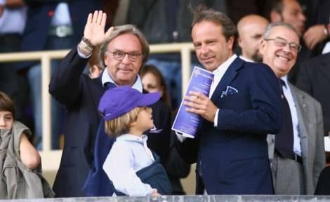 """Della Valle: """"Non sarò più il patron"""" Prandelli: """"Io resto alla Fiorentina"""""""
