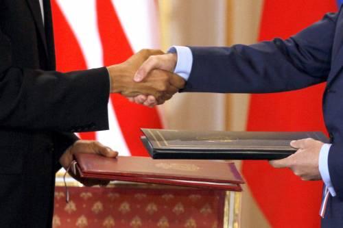"""Disarmo, firma storica  Accordo Usa e Russia:  """"Il mondo è più sicuro"""""""