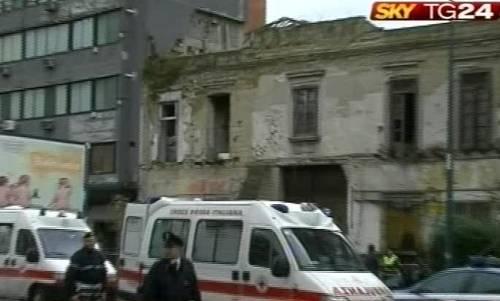 Napoli, crolla un solaio:  morta una donna polacca  Un ferito sotto le macerie