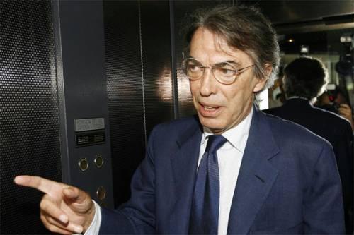 """Moratti, contropiede sull'arbitro: """"Il Barça non lo condizionerà"""""""