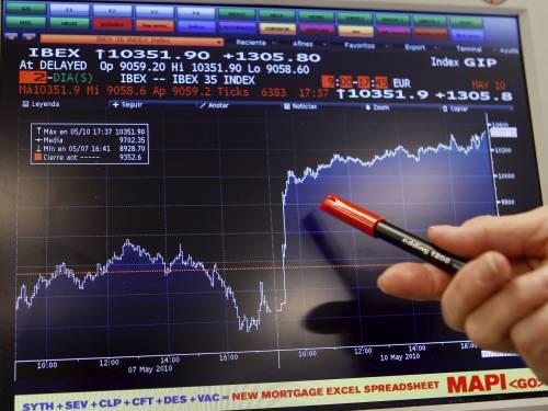 Dopo il lunedì record Borse europee in ribasso