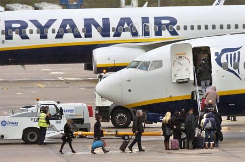 Ryanair: multa dall'Enac  per mancata assistenza  nei giorni del blocco voli