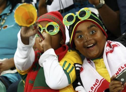 Dopo le proteste vuvuzela meno rumorose