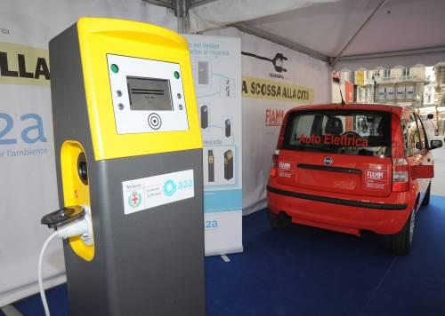 Milano si dà una scossa   e ricarica l'auto elettrica