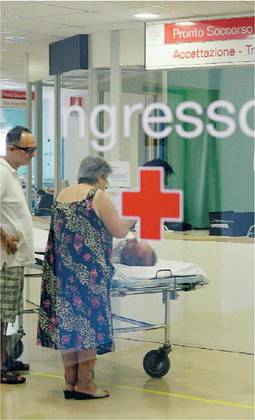 Pronto soccorso presi d'assalto:  falso allarme per 1 paziente su 5