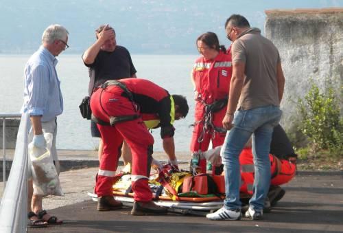 Tragedia nel lago d'Iseo  Morti due fratellini  che erano caduti in acqua