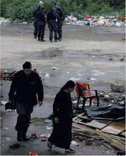 Via Rubattino, sgomberato il campo rom
