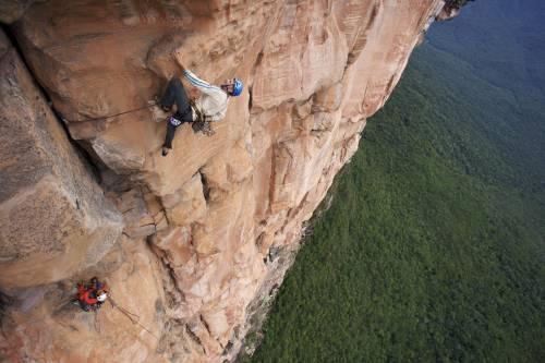 Leggenda dell'arrampicata in fin di vita