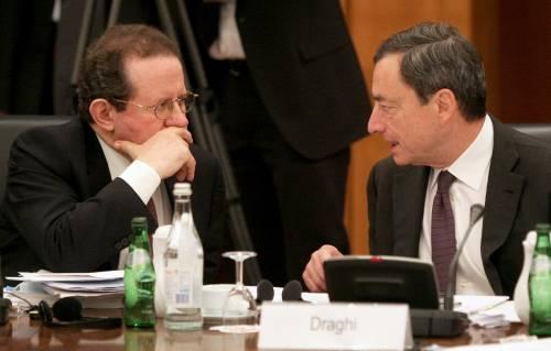 Bankitalia, Draghi taglia lo stipendio