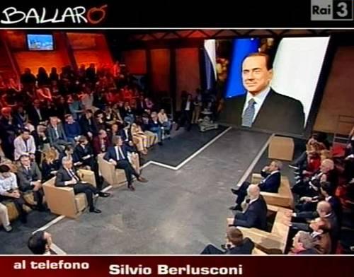 "Berlusconi chiama Ballarò: ""Siete mistificatori""  Ma Garimberti replica: ""Floris impeccabile"""
