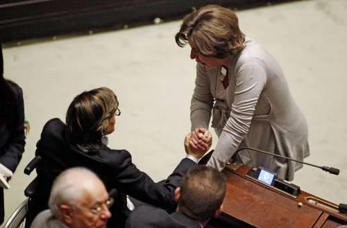 Montecitorio: Guzzanti vota contro, la Siliquini a favore