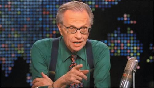 Larry King manda in  pensione il talk show
