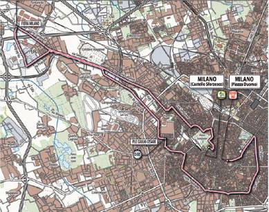 Milano e il Giro d'Italia 2011  fanno la pace con una  tappa nel cuore della città