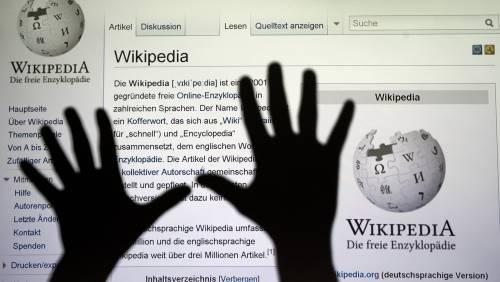 Purghe digitali a Wikipedia  Via chi non è fedele alla linea