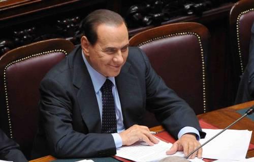 """Berlusconi: """"Vado avanti  Il governo ha i numeri"""""""