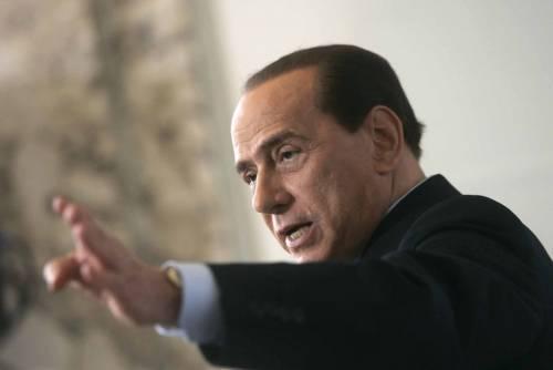 """L'ira di Berlusconi contro il Pd:  """"Insolenti, sabotano le riforme"""""""
