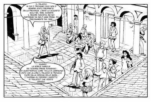 Un fumetto racconta 150 anni di storia della Provincia di Milano