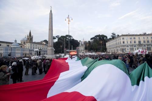 """Quando la sinistra odiava  tricolore e Inno d'Italia  E """"schifava"""" la Patria..."""