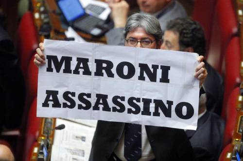"Follia Idv: ""Maroni assassino"""