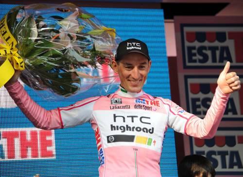 Va a Marco Pinotti e Htc  la prima tappa del Giro