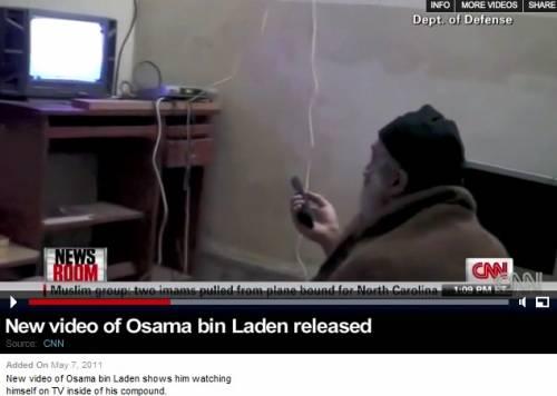 """L'ultimo messaggio di Bin Laden:  """"Sicurezza Usa legata alla Palestina"""""""