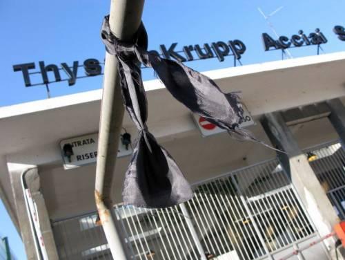 Thyssen, la farsa tedesca che sbeffeggia le vittime