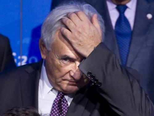 Lo scandalo che scuote la Francia<br /> Strauss-Kahn rischia 20 anni