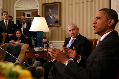 """Processo di pace, Obama  """"Divergenze con Israele"""""""