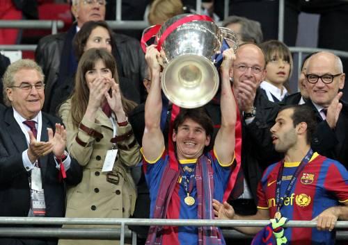 Messi trascina il Barça e vince la Champions