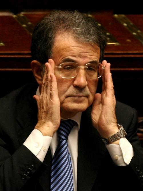 """Se Prodi bacchetta il Pd:  """"Niente governo tecnico  con i mercati contro"""""""