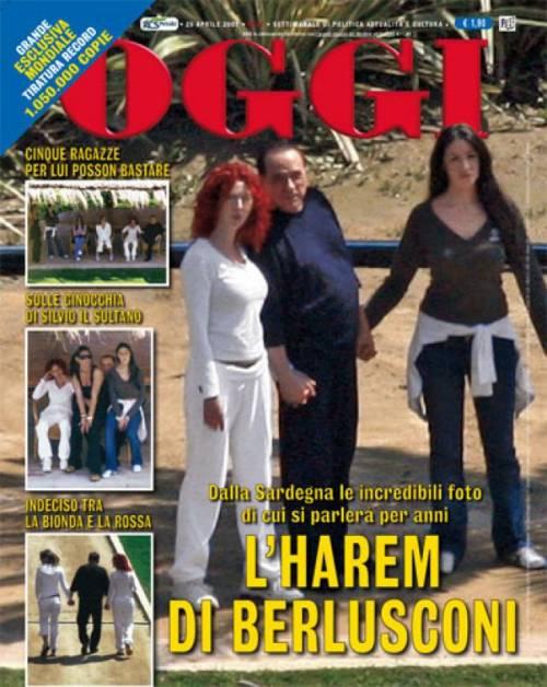 Berlusconi chiamato a testimoniare per le foto di Villa Certosa