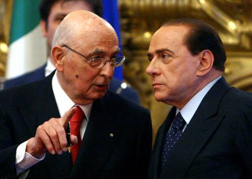 Crisi, vertice di un'ora tra il Cav e Napolitano