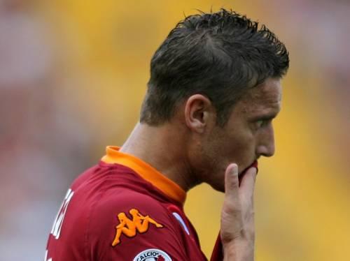 """Totti: """"Contro la Lazio non sarò in campo"""""""