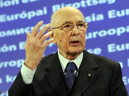 """Napolitano: """"Italia investa in politica industriale"""""""