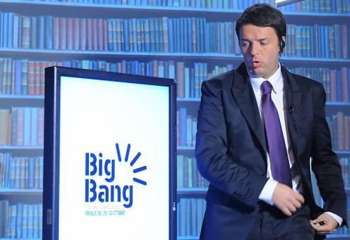"""Con il Big Bang Renzi lancia la sfida a Bersani """"Il Pd deve fare le primarie come in Francia"""""""