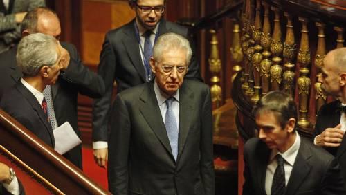"""Senato: sì al ddl Stabilità L'esordio di Monti in Aula Ue: """"È la direzione giusta"""""""