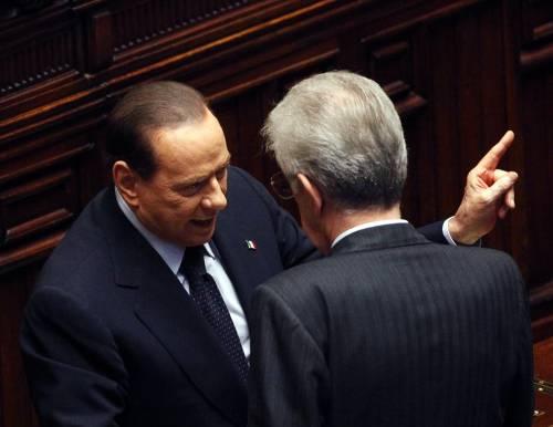 """Berlusconi mette i """"paletti"""" a Monti: """"No a patrimoniale e legge elettorale"""""""