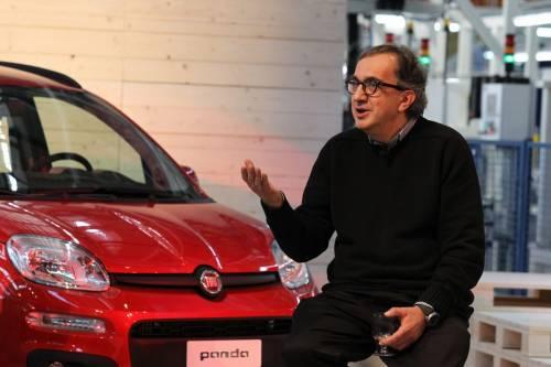 """Fiat lancia la Nuova Panda E Marchionne agli scettici: """"Noi rispondiamo coi fatti"""""""