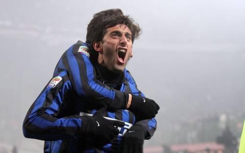 Milito Principe di Milano L'Inter vince il derby Milan battuto di misura